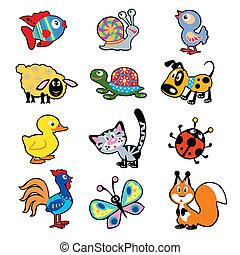 cartoon animals for kids