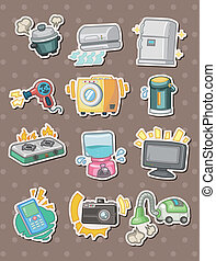 cartoon Appliance stickers