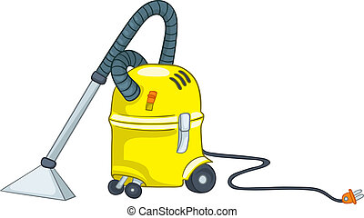 Cartoon Appliences Vacuum - Cartoon Home Appliences Vacuum...