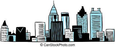 Cartoon Atlanta
