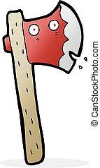 cartoon axe