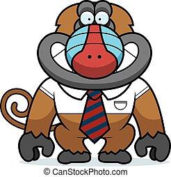 Cartoon Baboon Tie