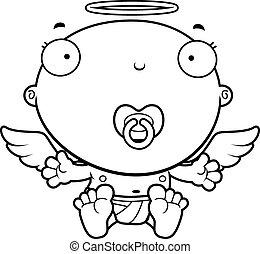 Cartoon Baby Angel Pacifier