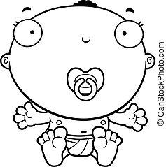 Cartoon Baby Boy Pacifier