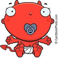 Cartoon Baby Devil Pacifier