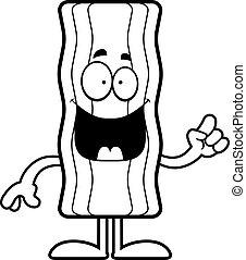 Cartoon Bacon Strip Idea