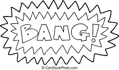 cartoon bang symbol