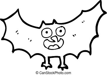 cartoon bat