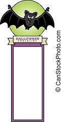 Cartoon Bat Halloween Graphic