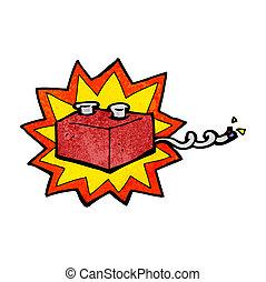 cartoon battery
