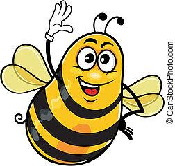 cartoon bee 01