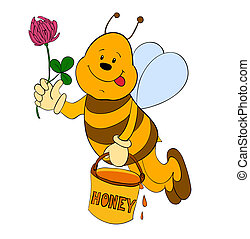 cartoon bee