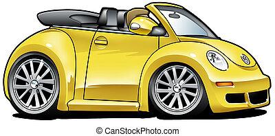 Cartoon Beetle - Cartoon Illustration