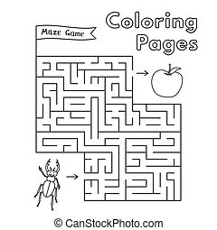 beat bugs coloring pages   Cartoon bugs word. A cartoon illustration of the word bugs ...
