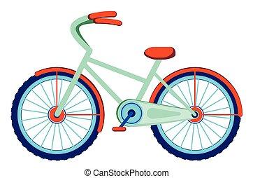 Cartoon bicycle design