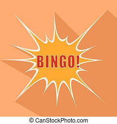Cartoon Bingo. Vector illustration.