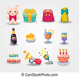 cartoon Birthday icon