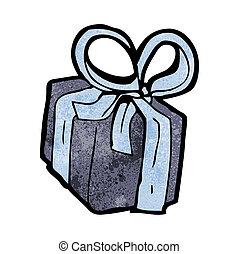 cartoon birthday present