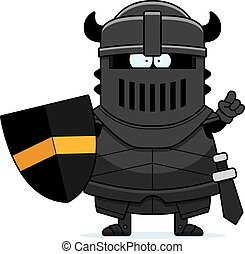 Cartoon Black Knight Idea