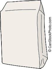Cartoon Blank Package