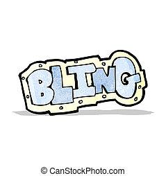 cartoon bling symbol