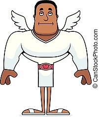 Cartoon Bored Cupid