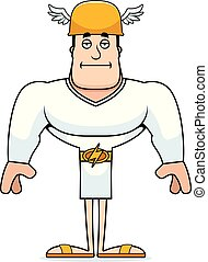 Cartoon Bored Hermes