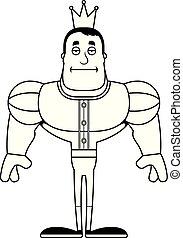Cartoon Bored Prince