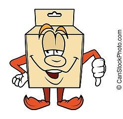 Cartoon Box - Failure Concept