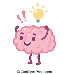 Cartoon brain idea