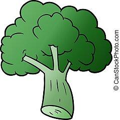 cartoon broccoli