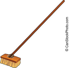 Cartoon Broom