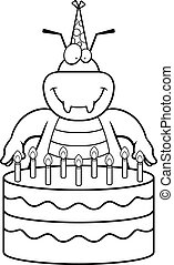 Cartoon Bug Birthday