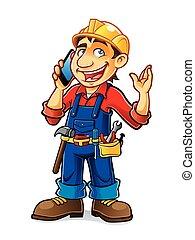 Cartoon Builder Talking