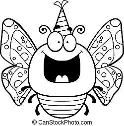 Cartoon Butterfly Birthday Party