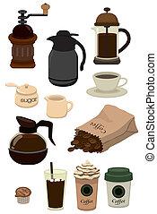 cartoon cafe icon