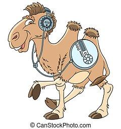 cartoon camel animal