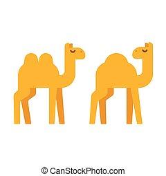 Cartoon camel illustration