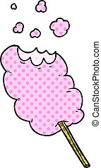 cartoon candy floss