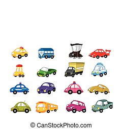 cartoon car  - cartoon car