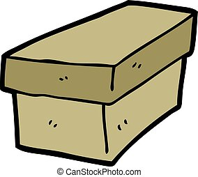 cartoon cardboard box