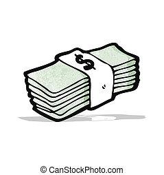 cartoon cash
