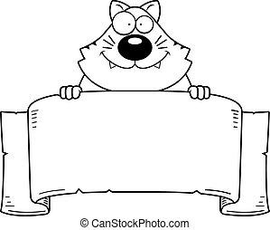 Cartoon Cat Banner