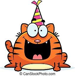 Cartoon Cat Birthday Party