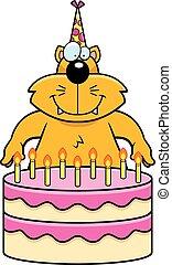 Cartoon Cat Birthday