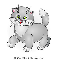 cartoon cat