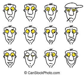 cartoon character avatars