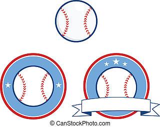 Baseball Banners 4 Collection Set