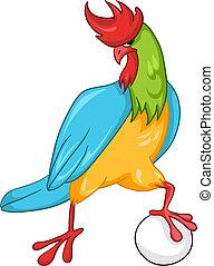 Cartoon Character Cock
