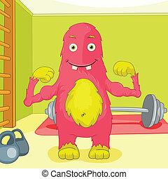 Funny Monster.